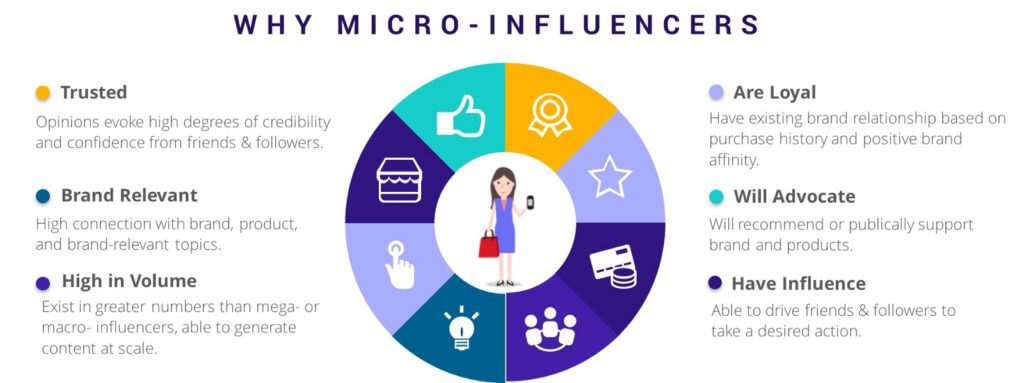 A Why micro-influencer infographic